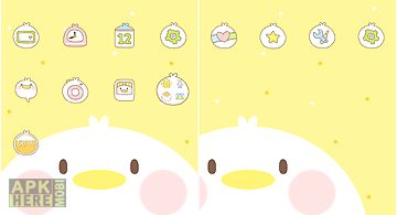 Chick dodol launcher theme