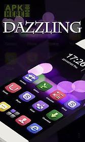 dazzling go launcher theme