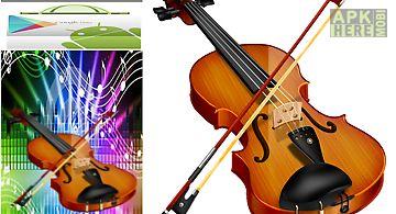 Play a real violin