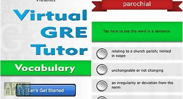 Virtual gre tutor - vocabulary