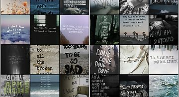 Depression quote wallpapers