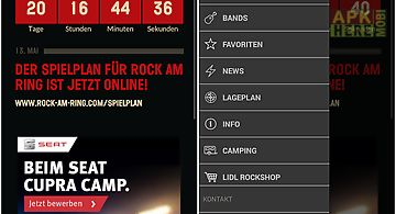 The official rock am ring app