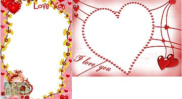 Love Wedding Frames