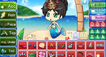 Mermaid pretty girl