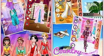 Country theme dressup