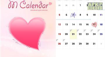 Menstrual calendar(m.calendar)