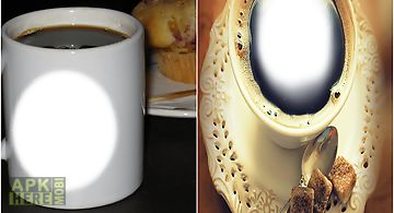 Coffee photo hd frame