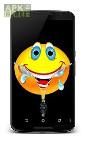 happy face zip unlock screen for android free download at apk here
