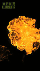 flames explosion