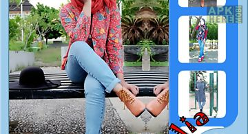 Hijab jeans fashion beauty