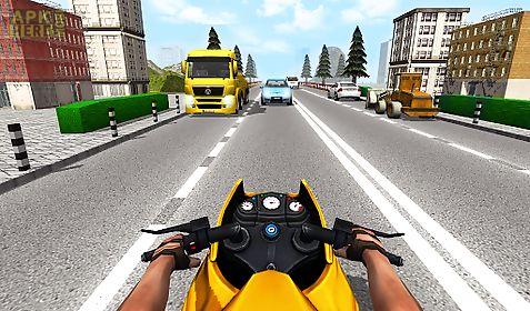 moto traffic rider