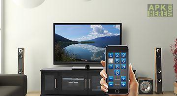 Tv decoder remote control