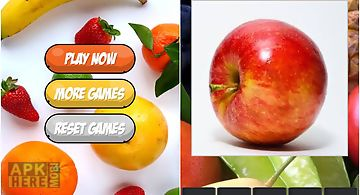 Fruit guess game