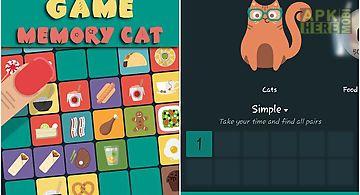 Memory game: memory cat