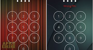 Passcode screen lock