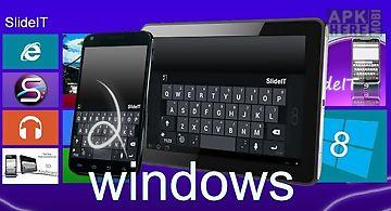 Slideit windows 8 skin