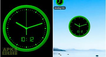 Analog clock -7 live wallpaper for Android free download at Apk Here