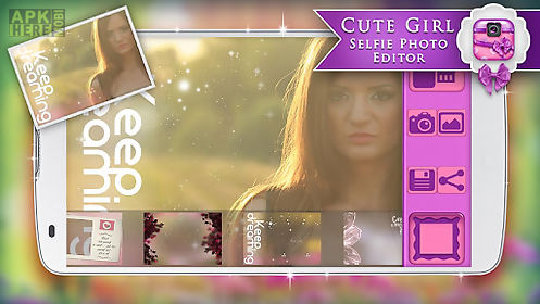 cute girl selfie photo editor for android free download at apk here