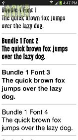 fonts for samsung 1000+