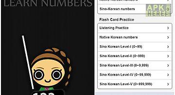 Learn korean numbers, fast!