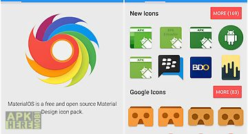 Materialos icon pack