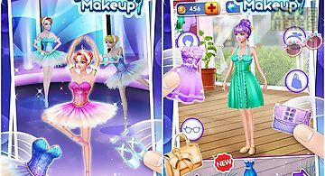 Ballet dancer makeup