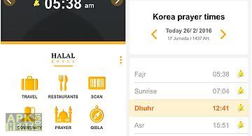 Halal korea-muslim quran qibla