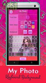 my photo keyboard background