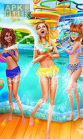water park salon - summer girl