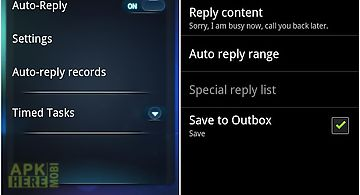 Auto reply