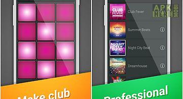Club drum pad machine