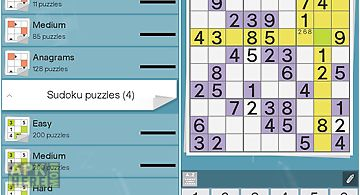 Grid games (crossword, sudoku)