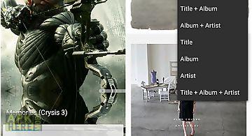 Album art changer