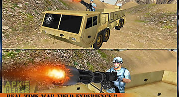 Army truck driver battle 3d