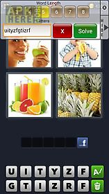 cheats for 4 pics 1 word