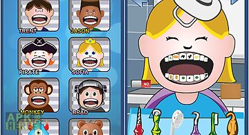 Crazy dentist game for kids