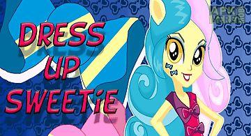 Dress up sweetie pony