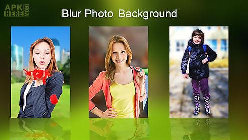 dslr blur background effect