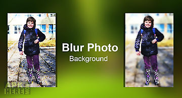 Dslr blur background effect