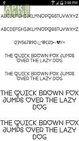 fonts for flipfont #17