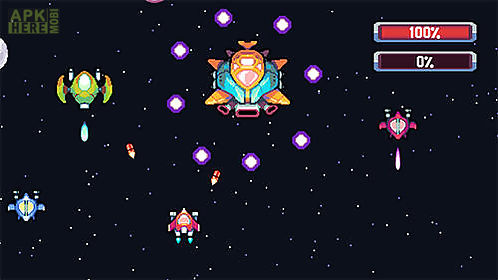 pixel journey: 2d space shooter