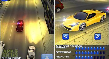 Crime racing city