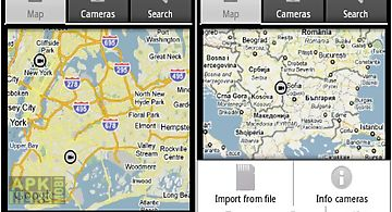 My cameras map