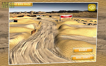 quad bike race desert offroad