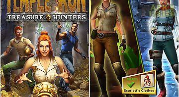 Temple run: treasure hunters