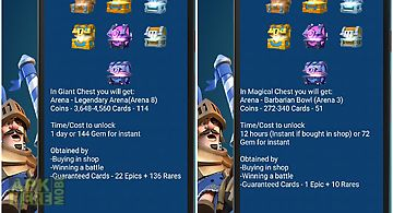Chests for clash royale 2016