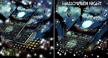 Halloween night keyboard