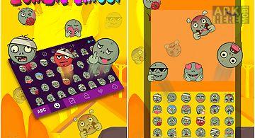Kika keyboard zombie emoji