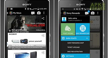 Sony rewards for Android free download at Apk Here store