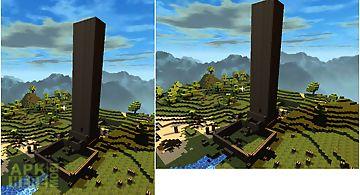 Townmine minecraft wallpaper
